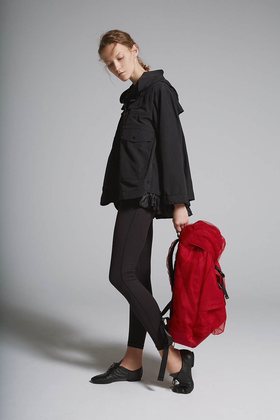 PLEATED JACKET DARK3731|ANY MOTION LONG DA25301|TULLE DAY PACK DARK9730