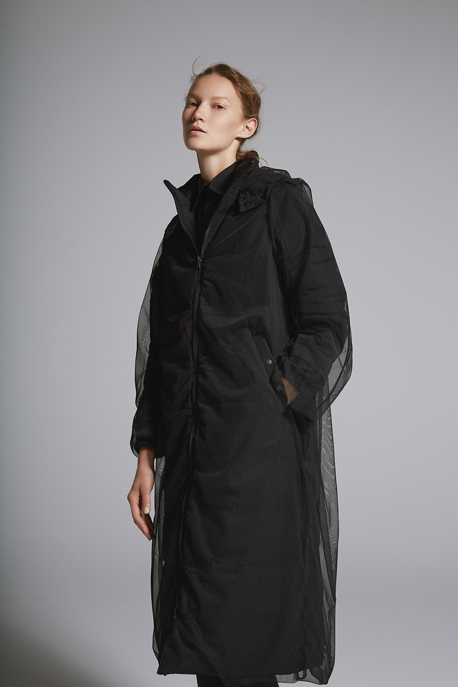 TULLE DOWN COAT DARK3733|COACH JACKET DARK3730