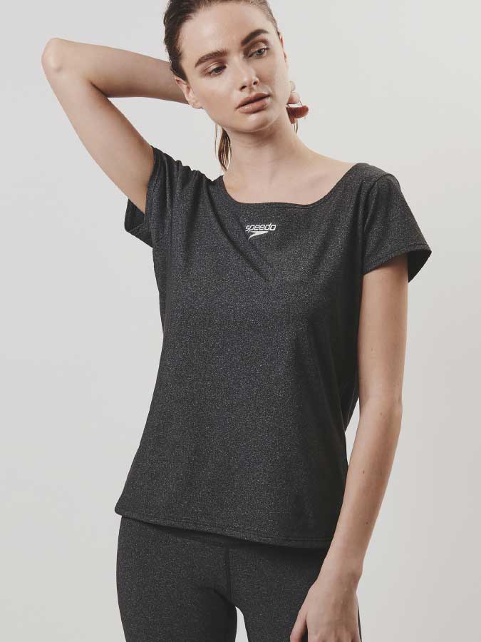 Soft Across French Sleeve Tee