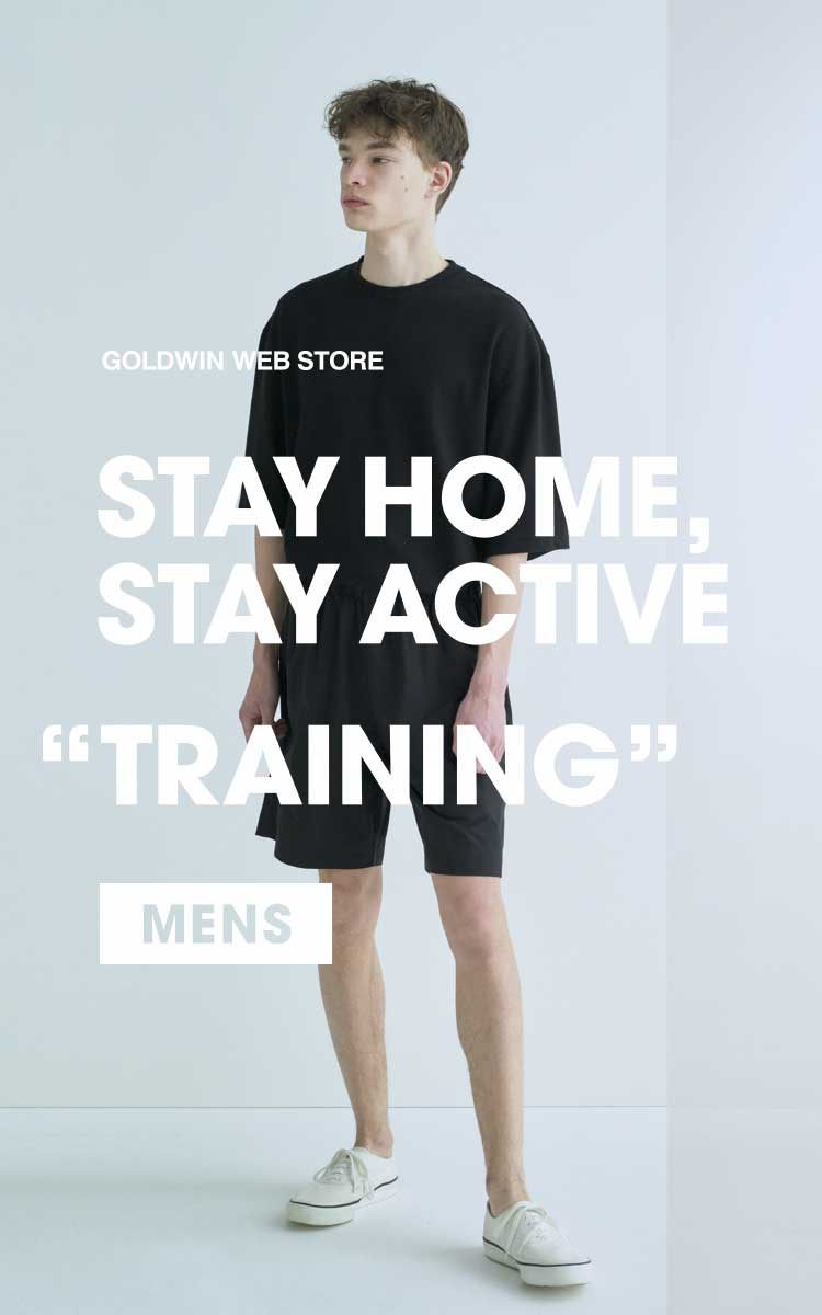 "STAY HOME, STAY ACTIVE ""TRAINING"" MENS"