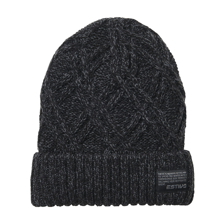 EV-DIAMOND KNIT CAP