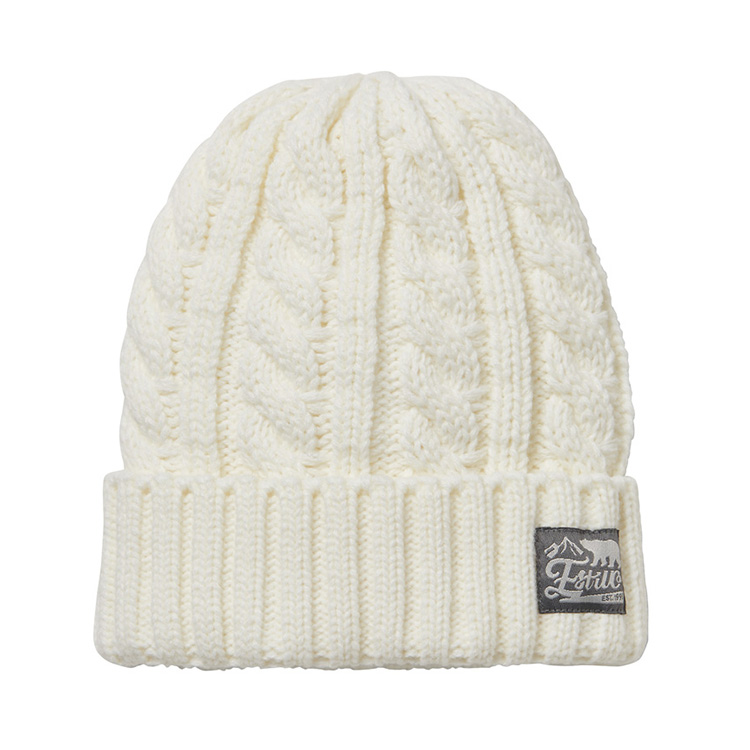 EV-THIN CABLE KNIT CAP