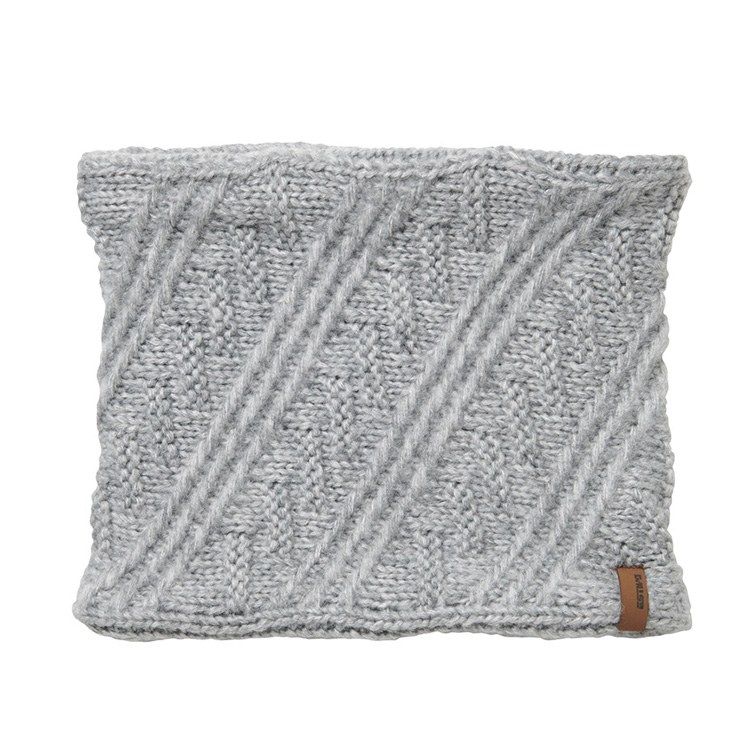 EV-DIAGONAL KNIT NECK WARMER