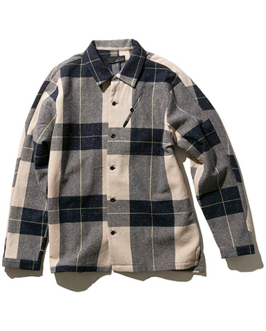 Open Collar Shirtの商品画像