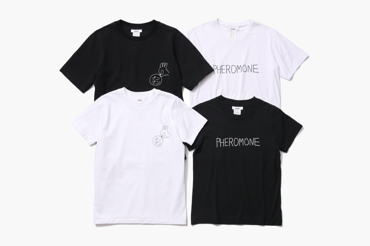 MXP MESSAGE T-SHIRTS designed by KEN KAGAMI