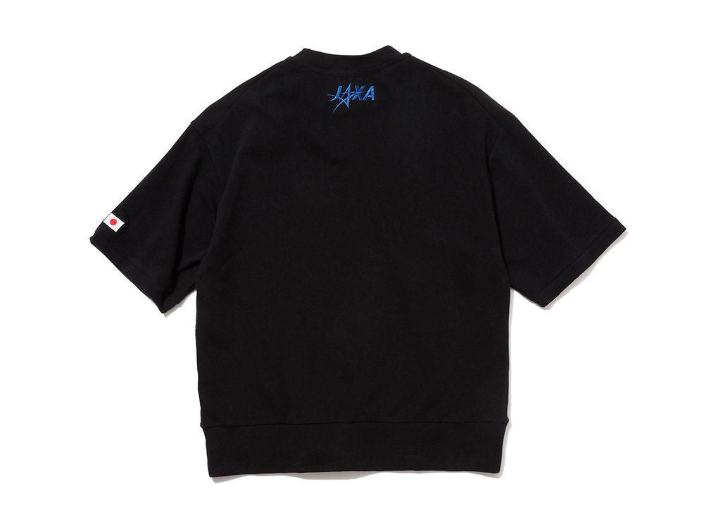 LIGHT WARM SWEAT HALF SLEEVE CREW